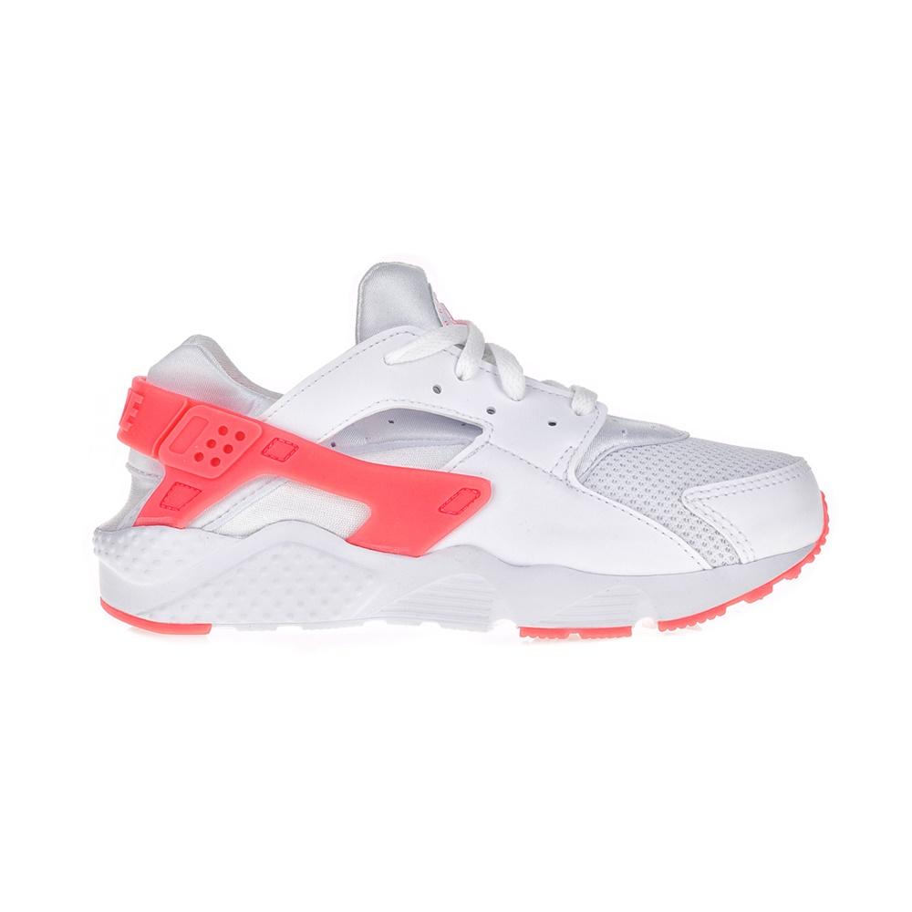 NIKE – Παιδικά αθλητικά παπούτσια NIKE HUARACHE RUN (PS) λευκά – ροζ