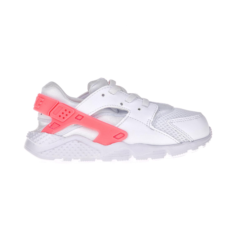 NIKE – Βρεφικά παπούτσια NIKE HUARACHE RUN (TD) λευκά – ροζ
