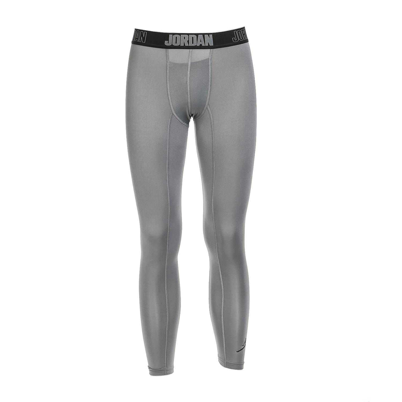 NIKE - Ανδρικό αθλητικό κολάν ΝΙΚΕ 23 PRO DRY TIGHT γκρι ανδρικά ρούχα αθλητικά κολάν