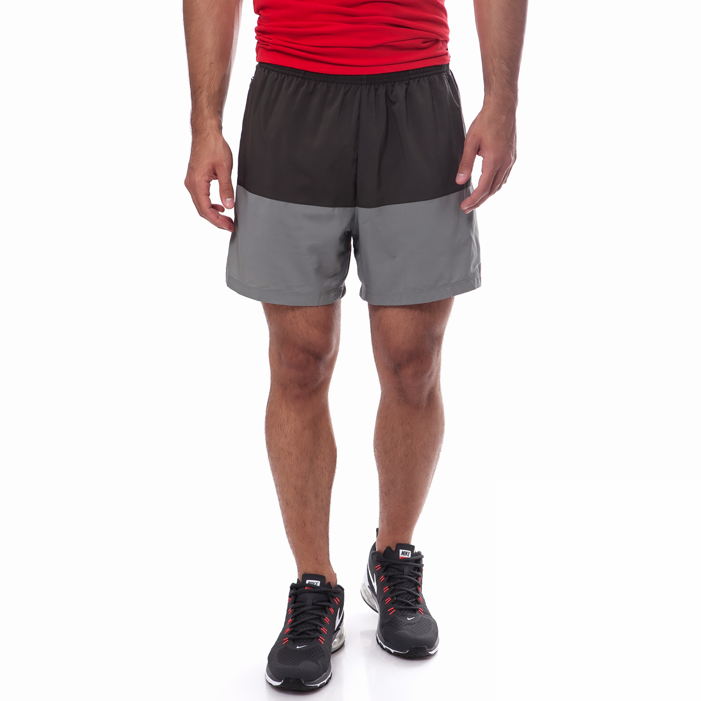 "NIKE - Ανδρικό σορτς Nike 5"" DISTANCE γκρι ανδρικά ρούχα σορτς βερμούδες αθλητικά"
