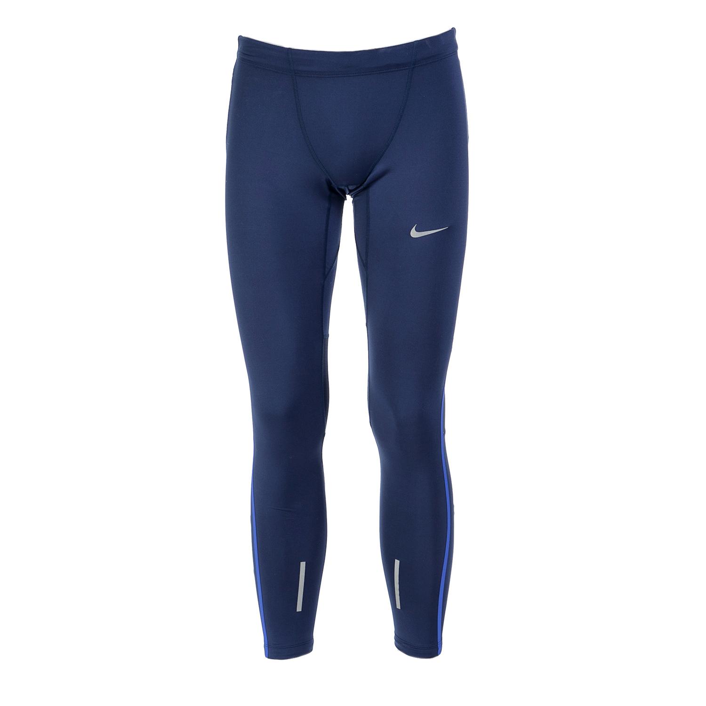 NIKE - Ανδρικό αθλητικό κολάν Nike μπλε ανδρικά ρούχα αθλητικά κολάν