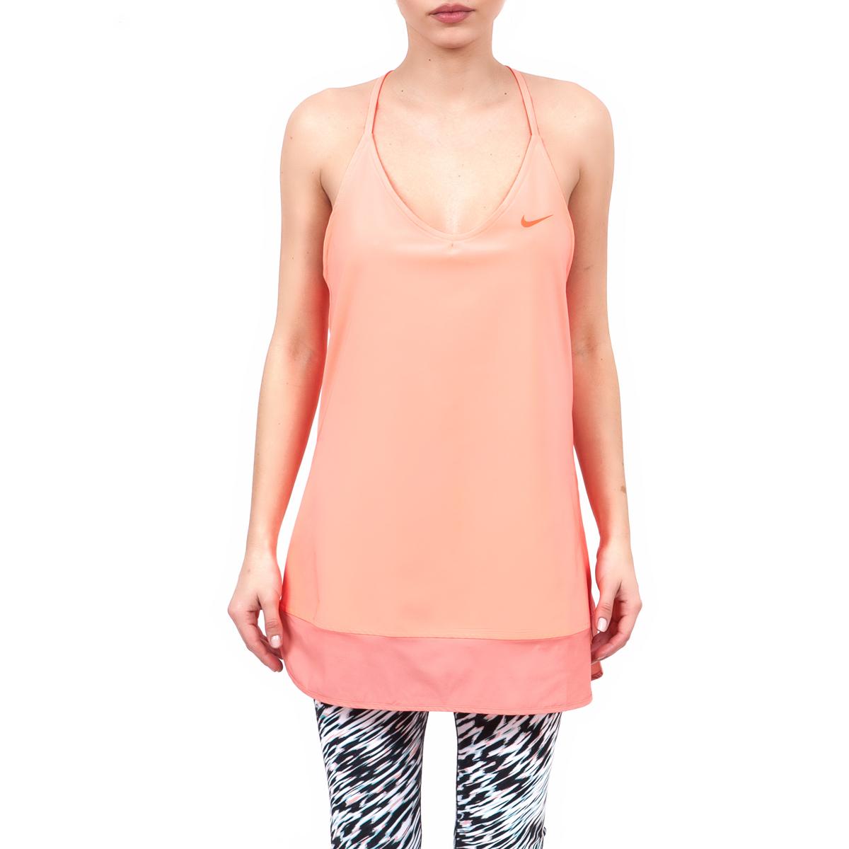 NIKE – Γυναικεία μπλούζα Nike πορτοκαλί
