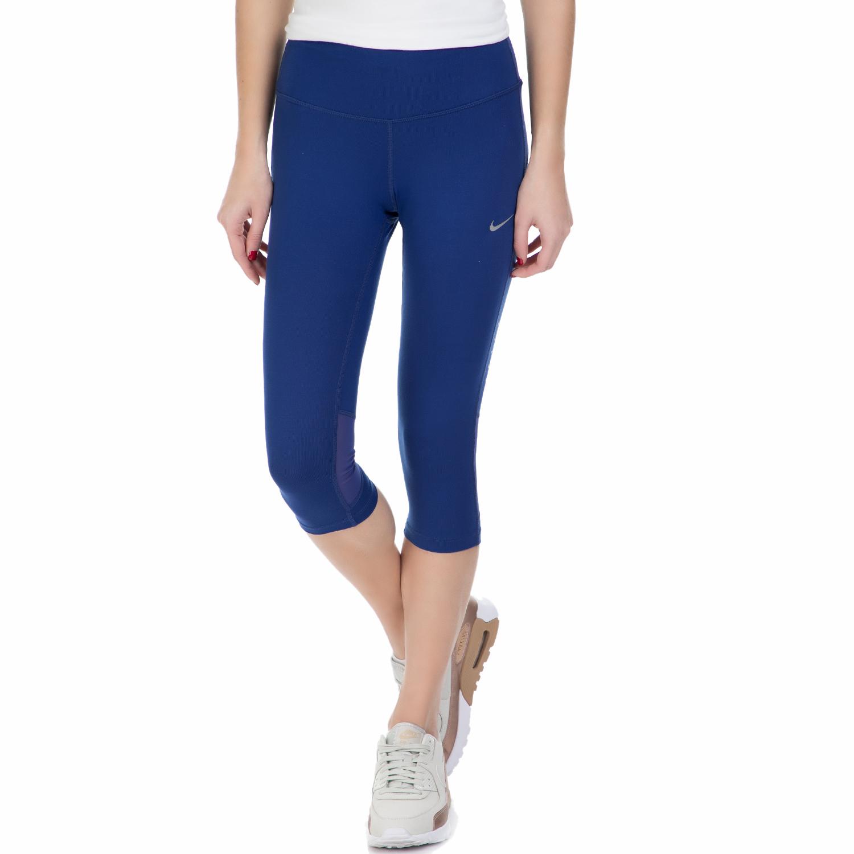 NIKE - Γυναικείο κολάν NIKE DF EPIC RUN μπλε γυναικεία ρούχα αθλητικά κολάν