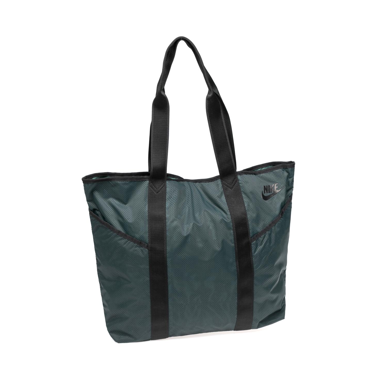 9241eb58de7 NIKE - Γυναικεία τσάντα ώμου NIKE AZEDA TOTE χακί
