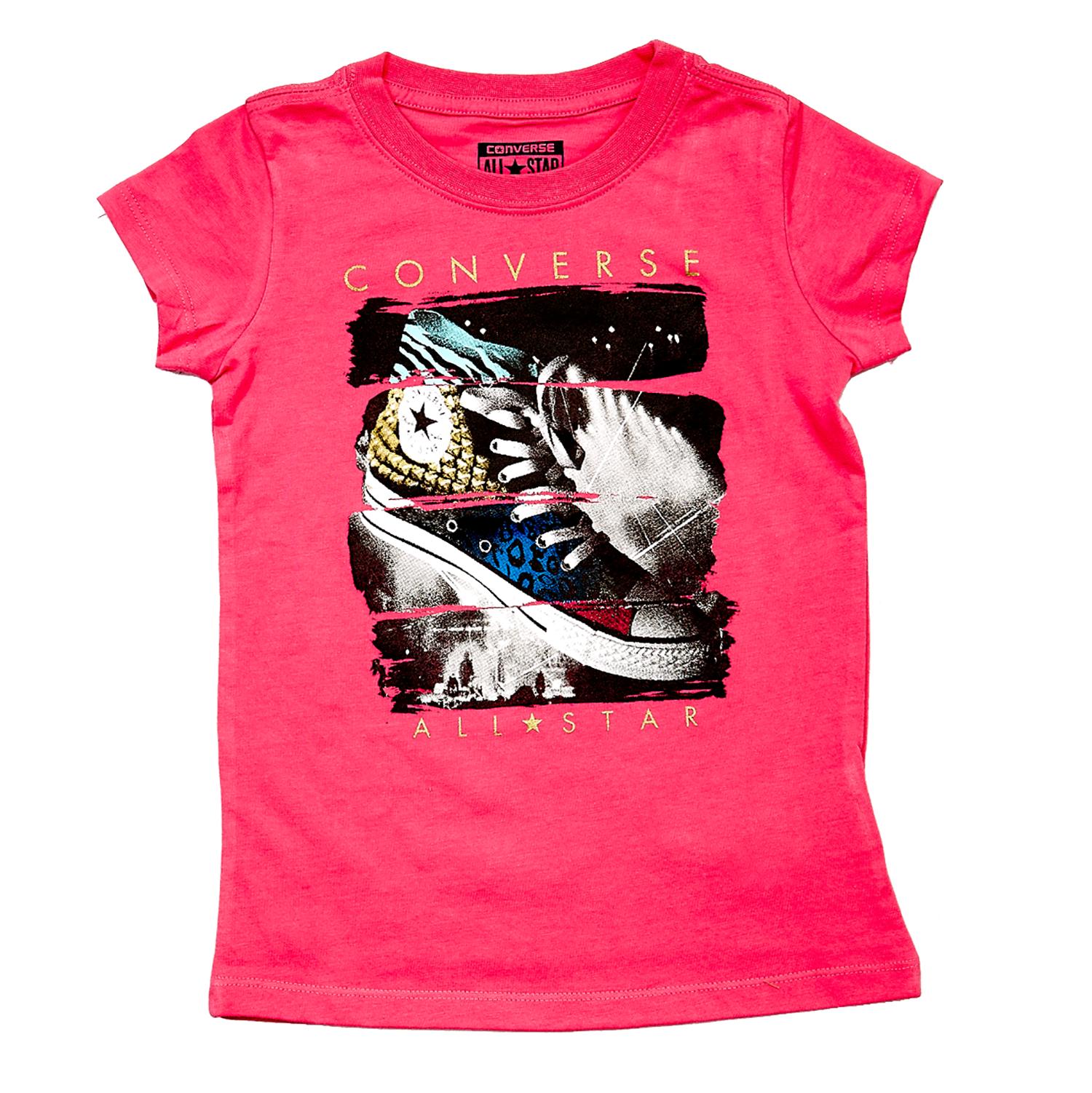 CONVERSE – Παιδική μπλούζα Converse φούξια