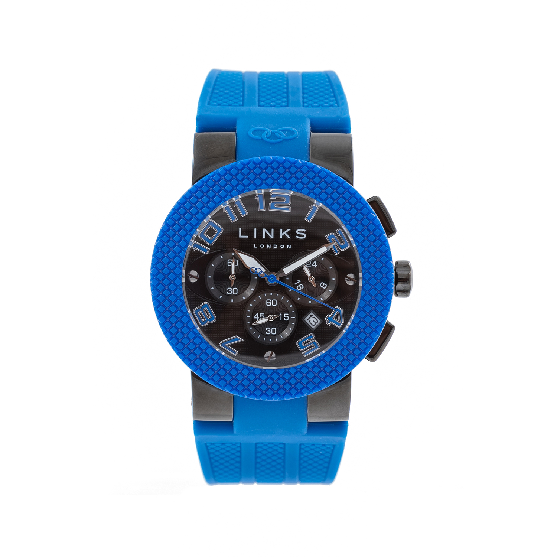 LINKS OF LONDON – Unisex ρολόι SPORT EXCESS LINKS OF LONDON μαύρο-μπλε