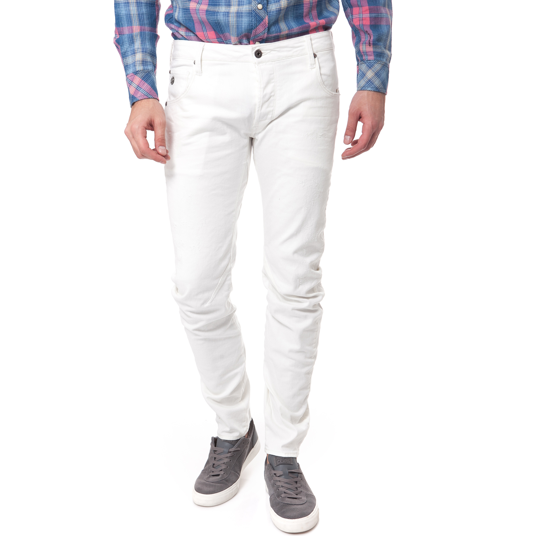 G-STAR RAW - Ανδρικό τζιν παντελόνι G-Star Raw λευκό ανδρικά ρούχα παντελόνια jean