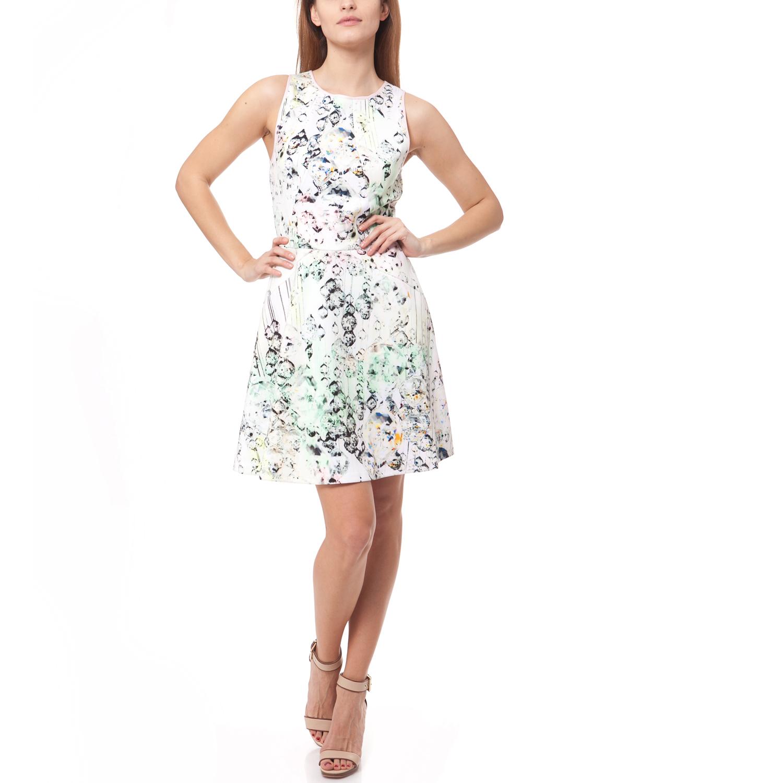 TED BAKER - Γυναικείο φόρεμα Ted Baker λευκό γυναικεία ρούχα φορέματα μίνι