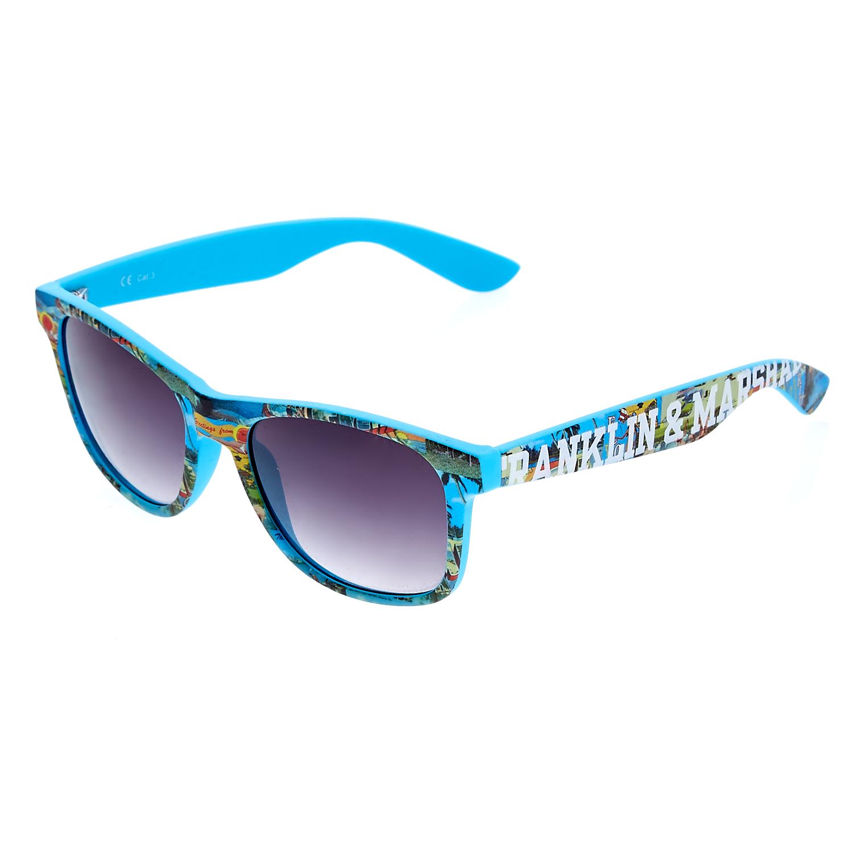 FRANKLIN & MARSHALL - Γυαλιά ηλίου Franklin & Marshall μπλε