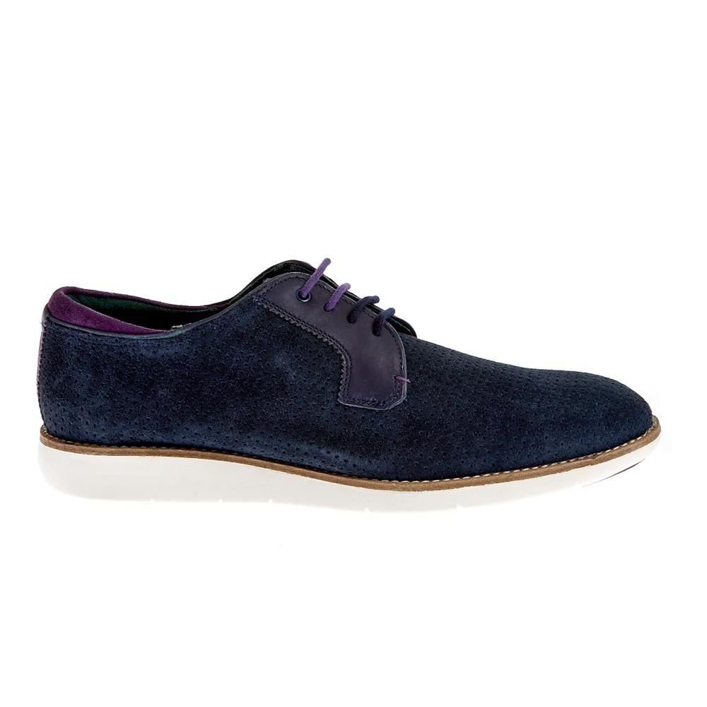 TED BAKER - Ανδρικά παπούτσια Ted Baker μπλε ανδρικά παπούτσια μοκασίνια loafers