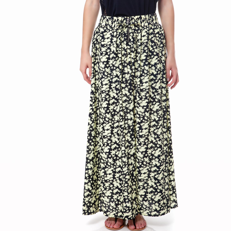 MAISON SCOTCH - Γυναικεία φούστα Maison Scotch μπεζ-μαύρη γυναικεία ρούχα φούστες μάξι