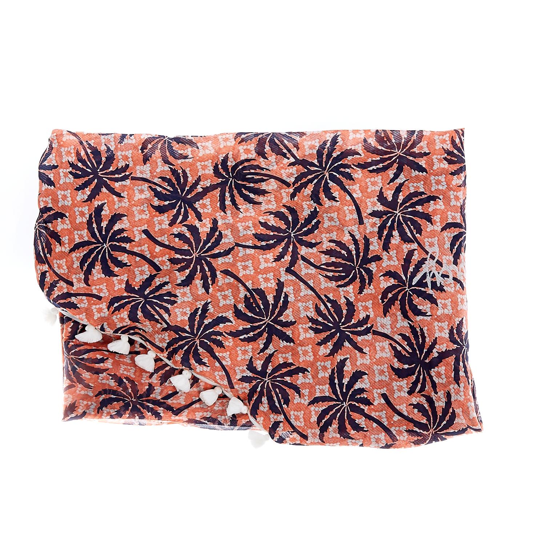 JUICY COUTURE - Γυναικείο φουλάρι Juicy Couture πορτοκαλί γυναικεία αξεσουάρ φουλάρια κασκόλ γάντια