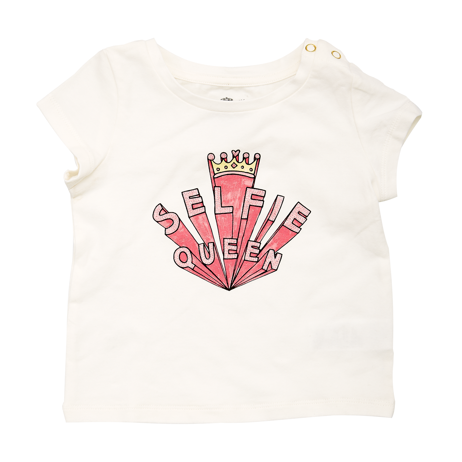 JUICY COUTURE KIDS – Βρεφική μπλούζα JUICY COUTURE λευκή