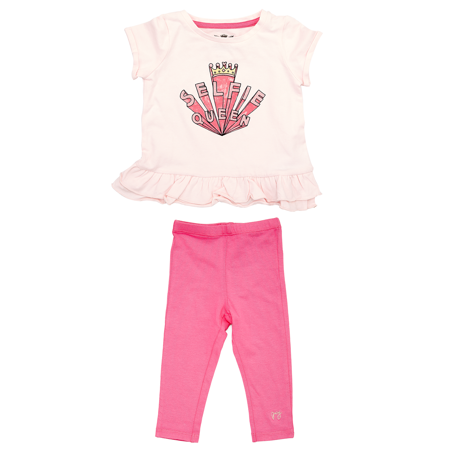 JUICY COUTURE KIDS – Βρεφικό σετ JUICY COUTURE φούξια