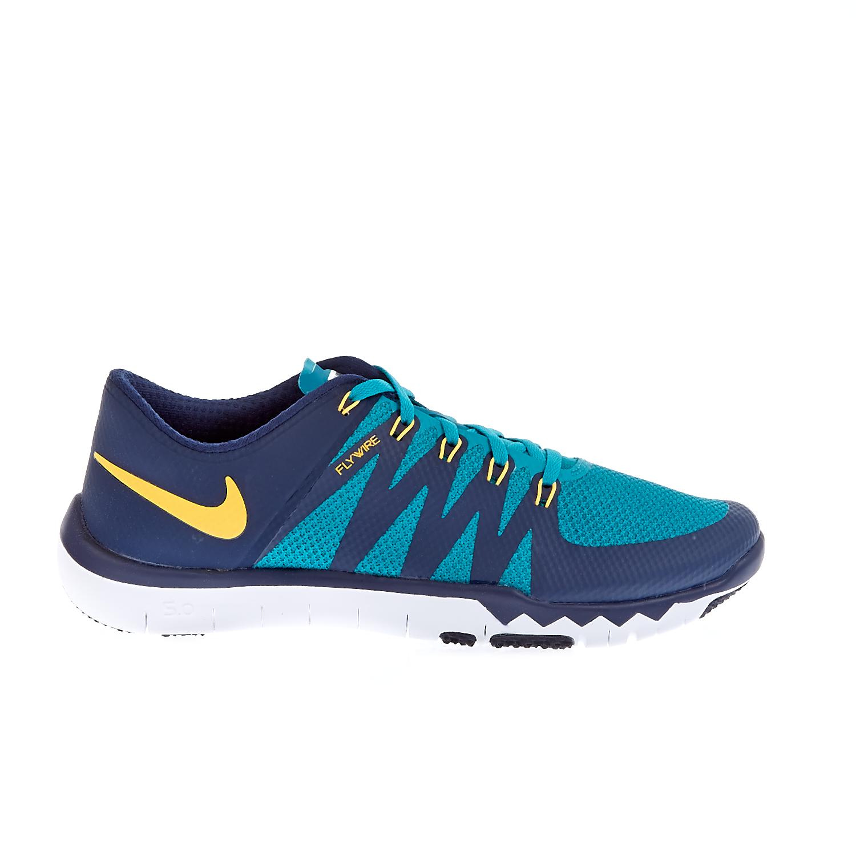 NIKE - Ανδρικά παπούτσια Nike FREE TRAINER 5.0 V6 πράσινα-μπλε ανδρικά παπούτσια αθλητικά training
