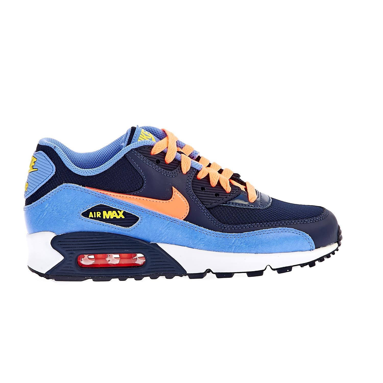 NIKE - Παιδικά αθλητικά παπούτσια NIKE AIR MAX 90 MESH μπλε 5f23203e187