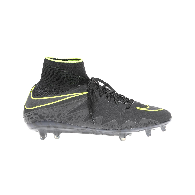 NIKE - Αντρικά αθλητικά παπούτσια NIKE HYPERVENOM PHANTOM II FG μαύρα ανδρικά παπούτσια αθλητικά football