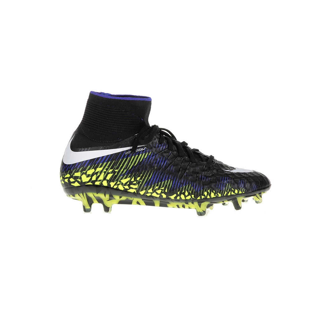 NIKE - Ανδρικά αθλητικά παπούτσια HYPERVENOM PHANTOM II TC FG μαύρα ανδρικά παπούτσια αθλητικά football
