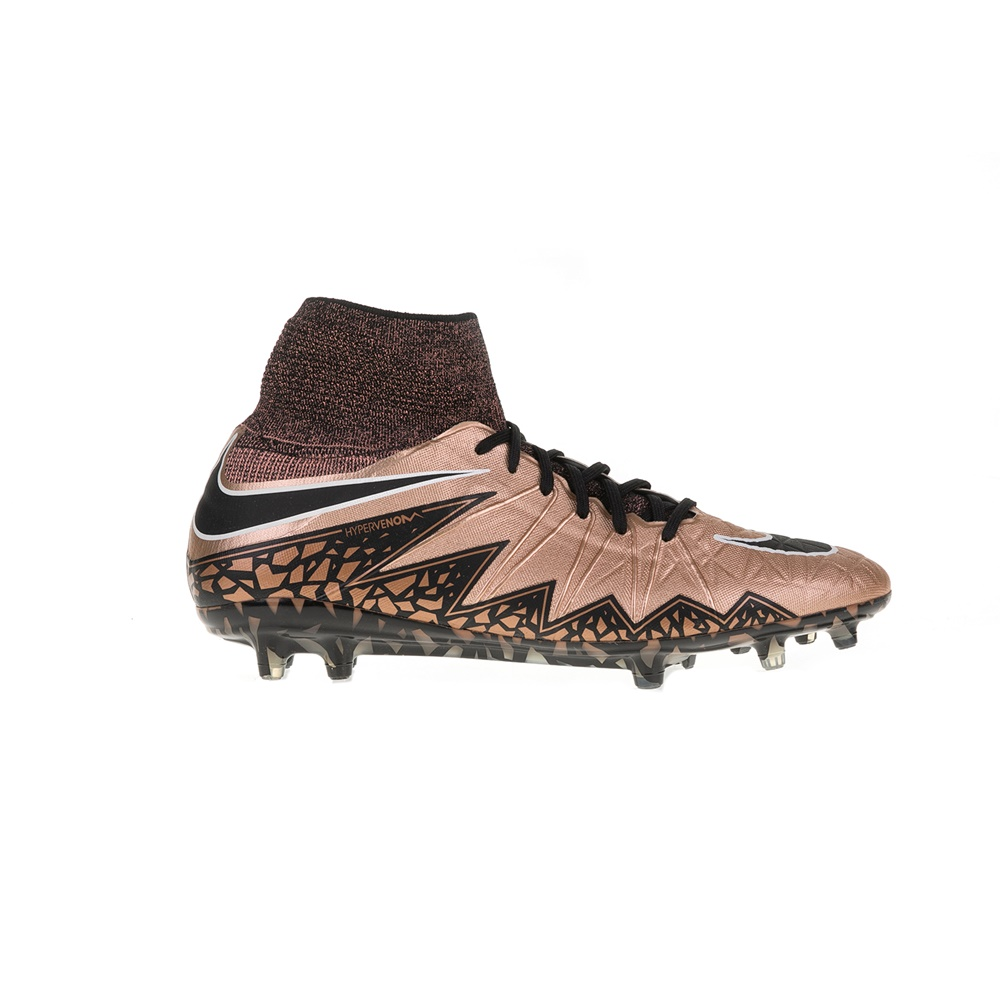 NIKE – Αντρικά αθλητικά παπούτσια HYPERVENOM PHANTOM II TC FG καφέ