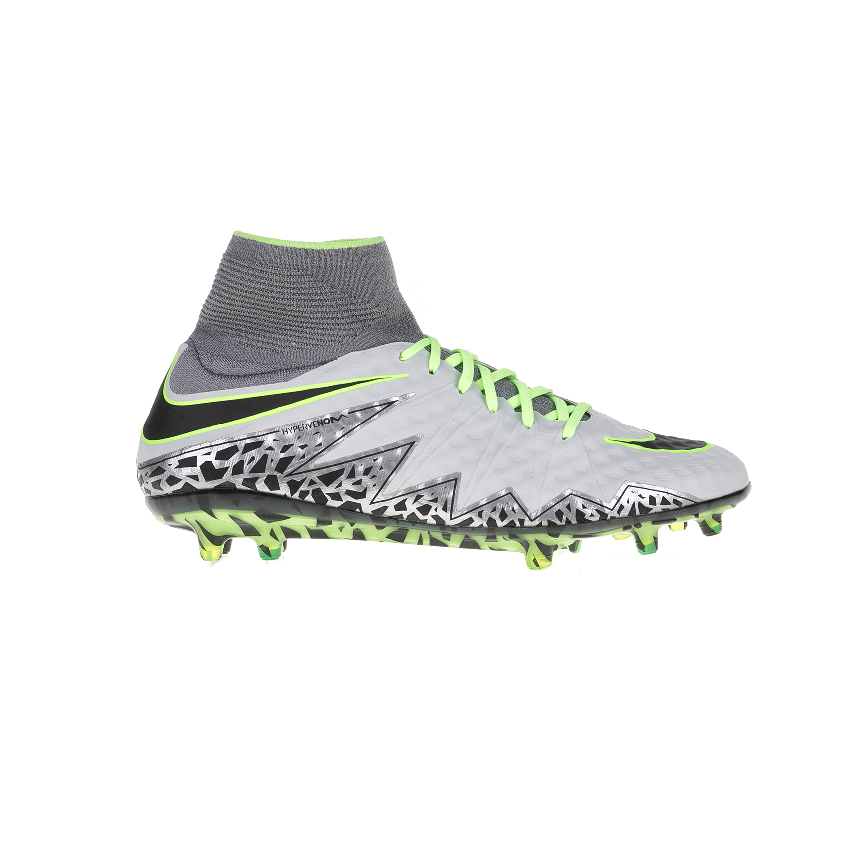 NIKE – Αντρικά αθλητικά παπούτσια HYPERVENOM PHANTOM II TC FG γκρι