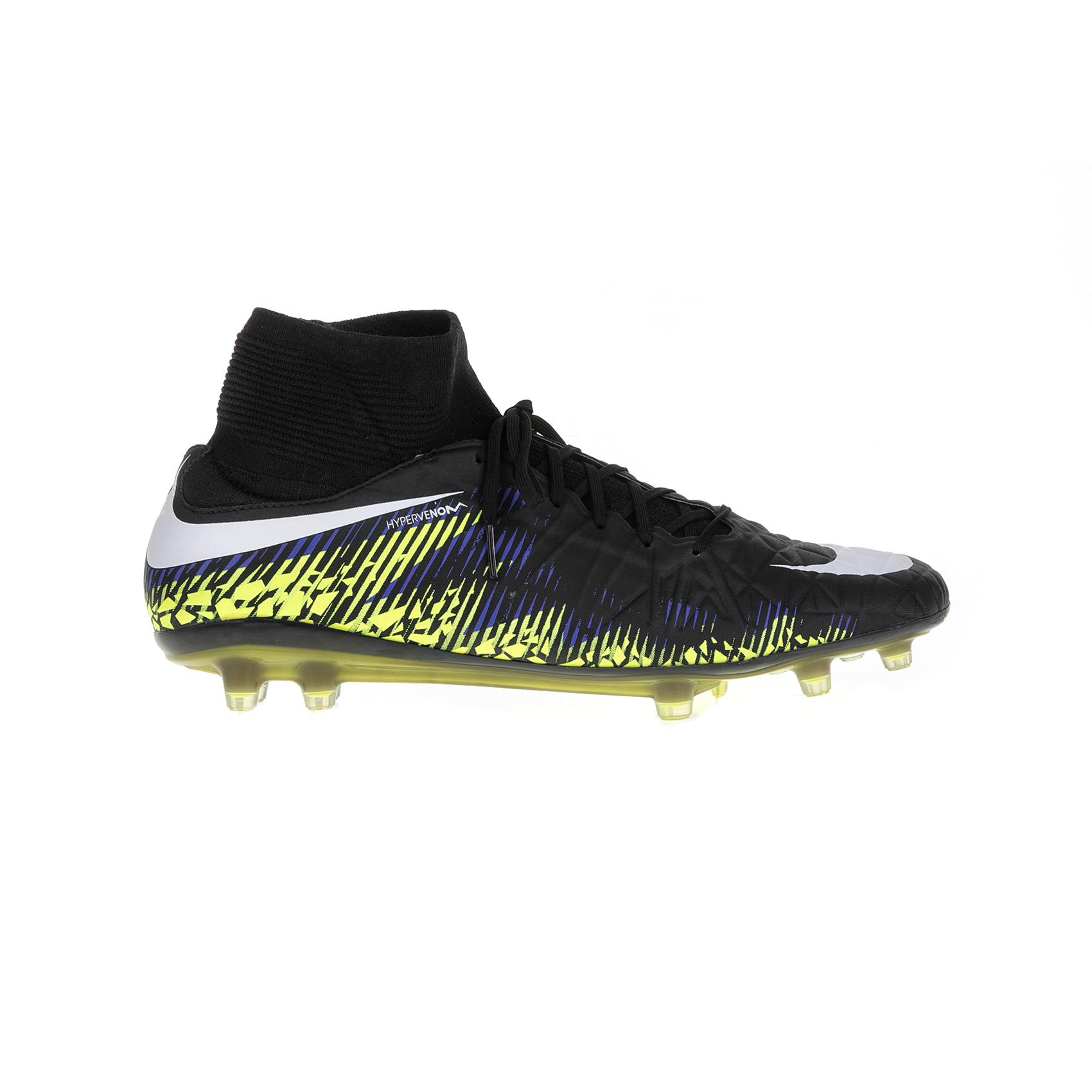NIKE - Ανδρικά παπούτσια Nike Hypervenom Phatal II DF (FG) μαύρα ανδρικά παπούτσια αθλητικά football
