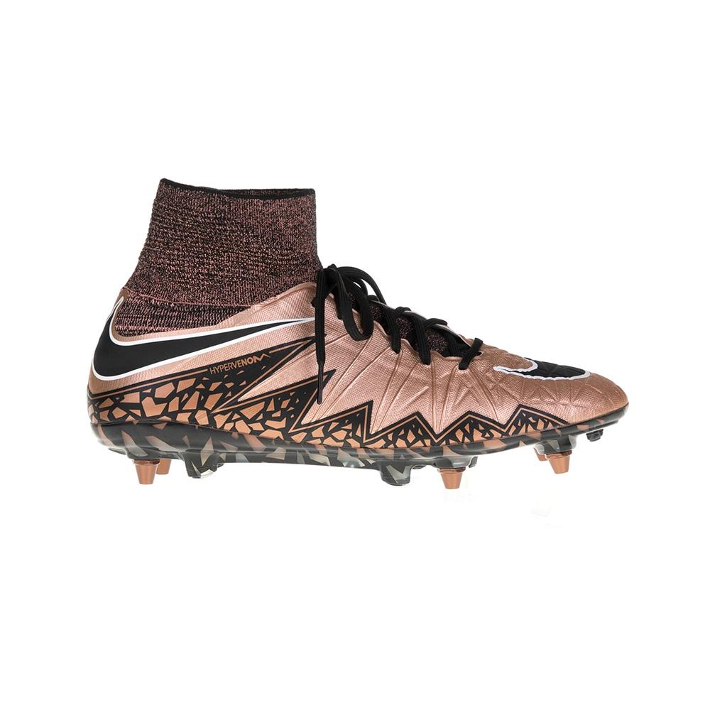 NIKE – Ανδρικά παπούτσια NIKE HYPERVENOM PHANTOM II SG-PRO μπρονζέ