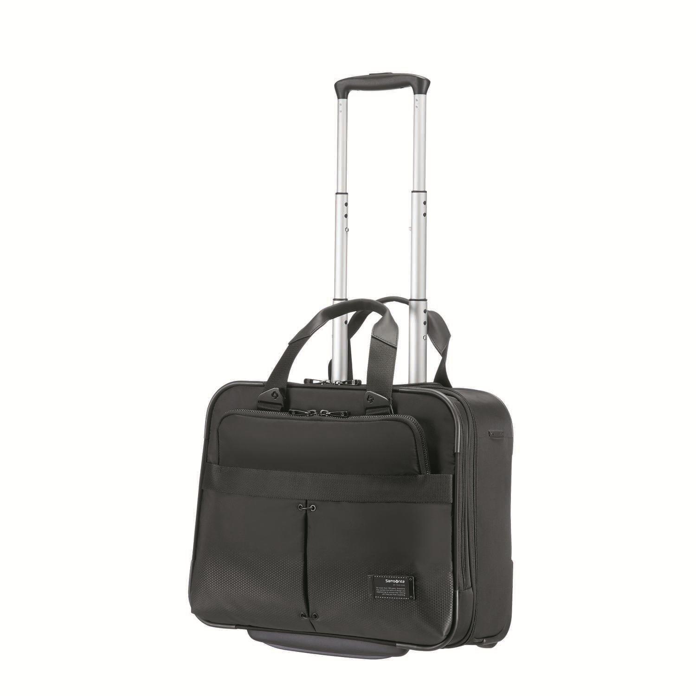 SAMSONITE – Τσάντα ταξιδιού CITYVIBE ROLLING TOTE 16″ μαύρη