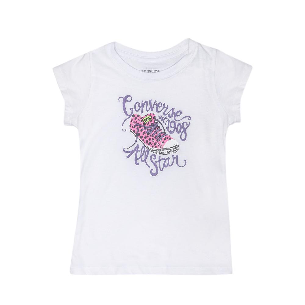 CONVERSE – Παιδική μπλούζα Converse λευκή
