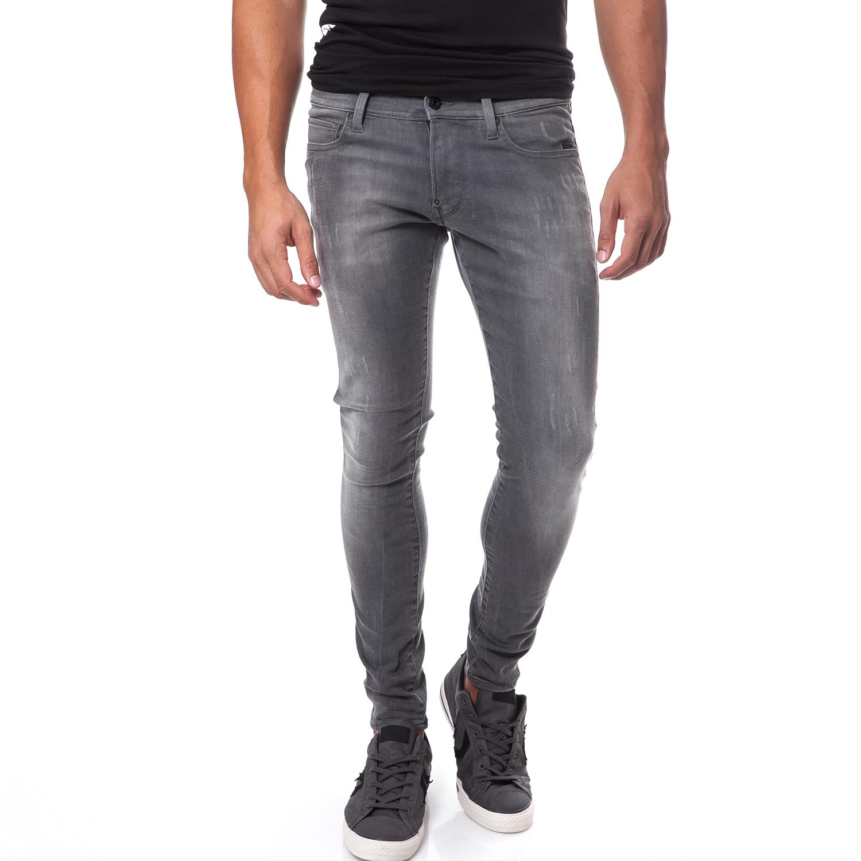 G-STAR RAW - Ανδρικό τζιν παντελόνι G-Star Raw γκρι ανδρικά ρούχα παντελόνια jean
