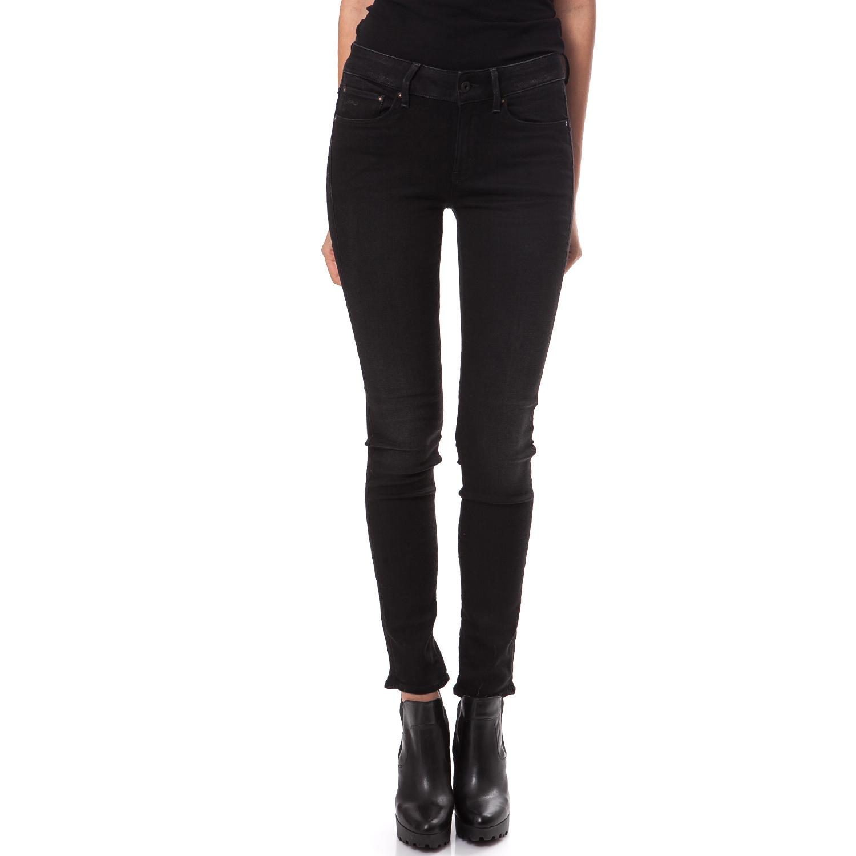 G-STAR RAW - Γυναικείο τζιν παντελόνι 3301 G-Star Raw μαύρο γυναικεία ρούχα παντελόνια jean