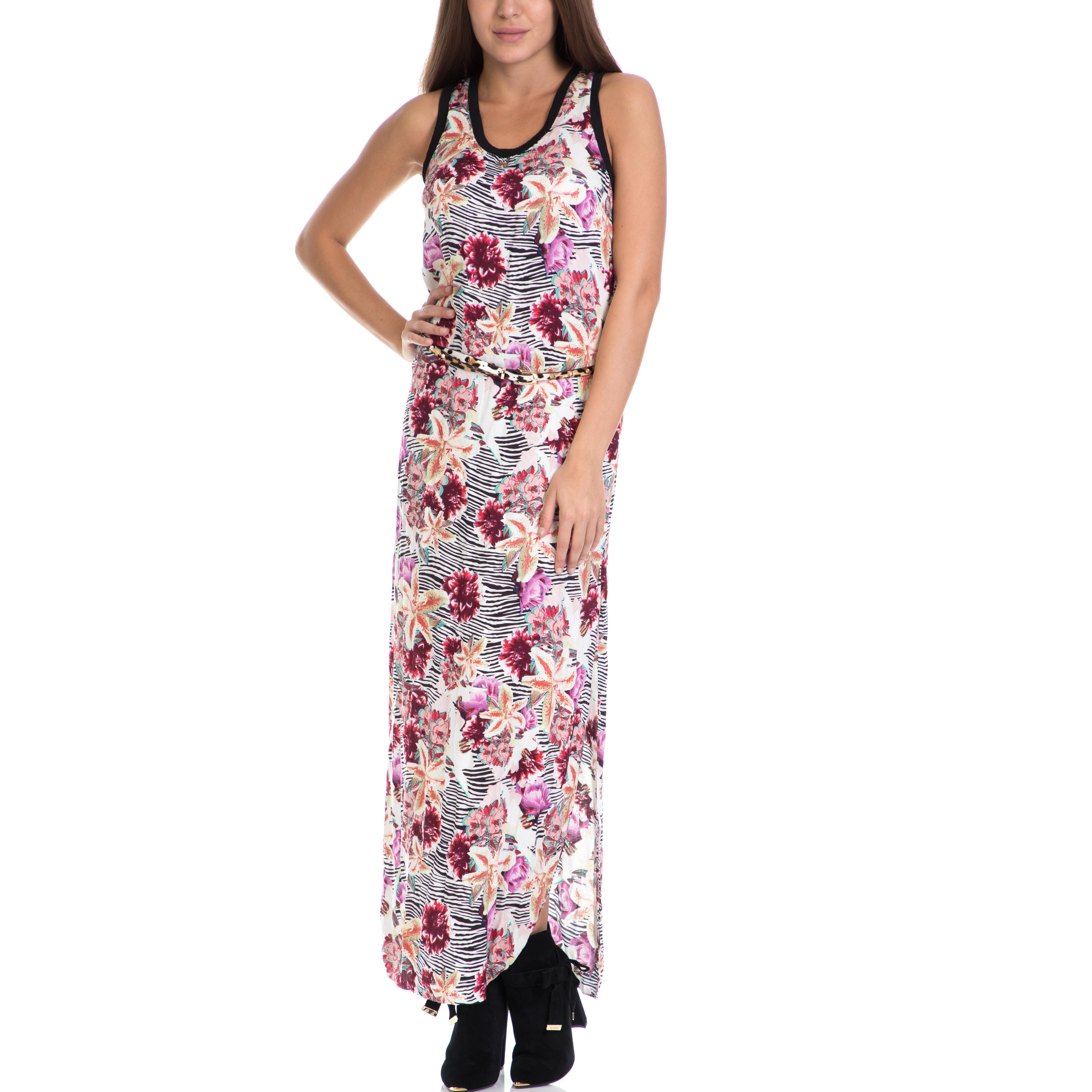 GUESS - Γυναικείο φόρεμα AGRIPPINA GUESS εμπριμέ γυναικεία ρούχα φορέματα μάξι