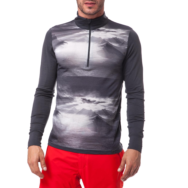 HELLY HANSEN - Ανδρική μπλούζα Helly Hansen γκρι ανδρικά ρούχα αθλητικά φούτερ μακρυμάνικα