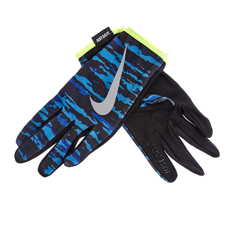 NIKE - Ανδρικά γάντια προπόνησης Nike μπλε ανδρικά αξεσουάρ φουλάρια κασκόλ γάντια