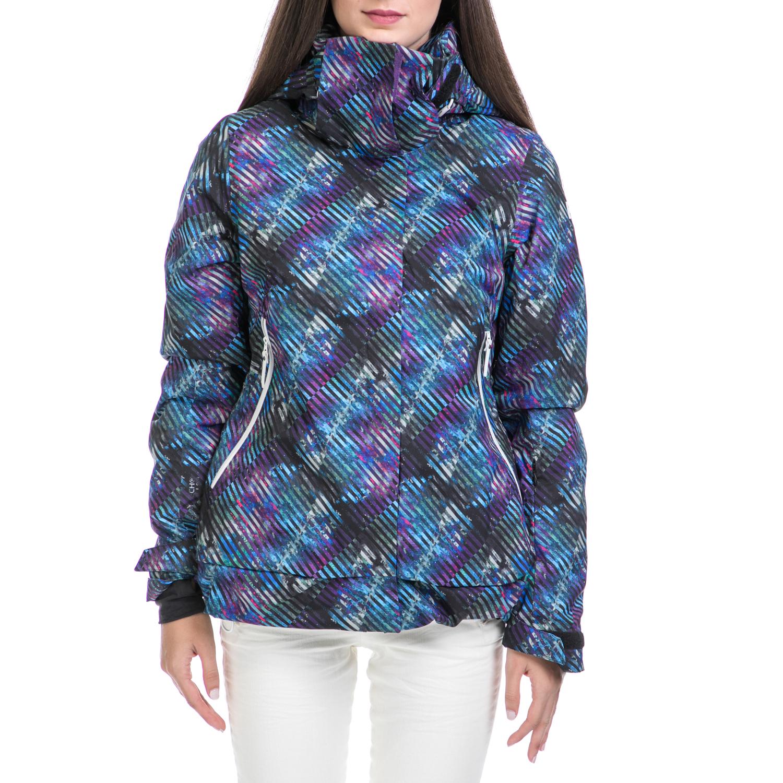 HELLY HANSEN - Γυναικείο μπουφάν SPRINT PRINTED μπλε γυναικεία ρούχα πανωφόρια μπουφάν