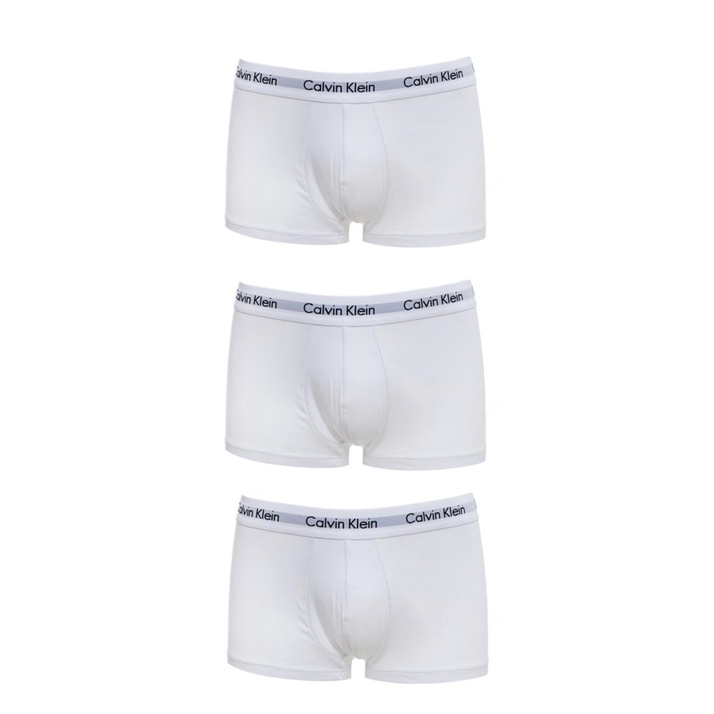 CK UNDERWEAR - Σετ μπόξερ Calvin Klein λευκά ανδρικά ρούχα εσώρουχα μπόξερ