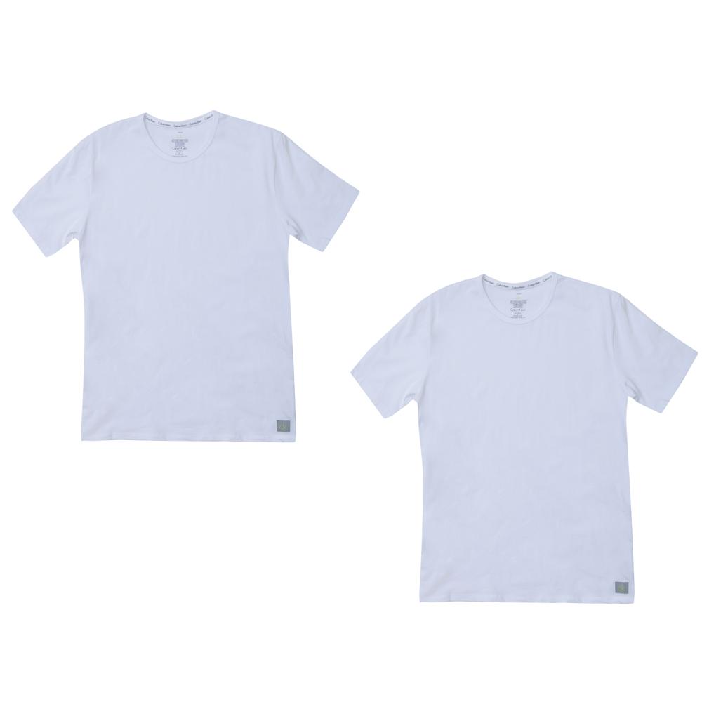 CK UNDERWEAR - Σετ φανέλες Calvin Klein λευκές ανδρικά ρούχα εσώρουχα φανέλες