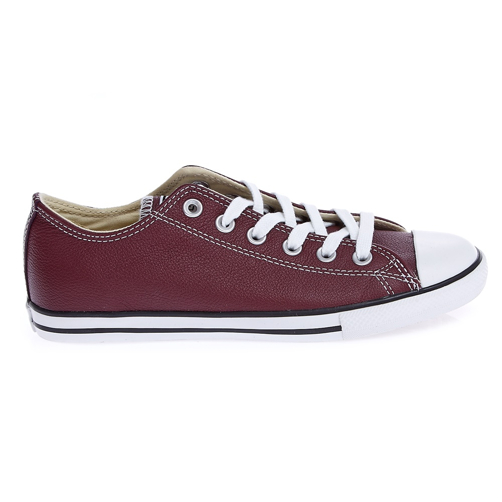 CONVERSE – Unisex παπούτσια Chuck Taylor All Star Lean Ox μπορντώ