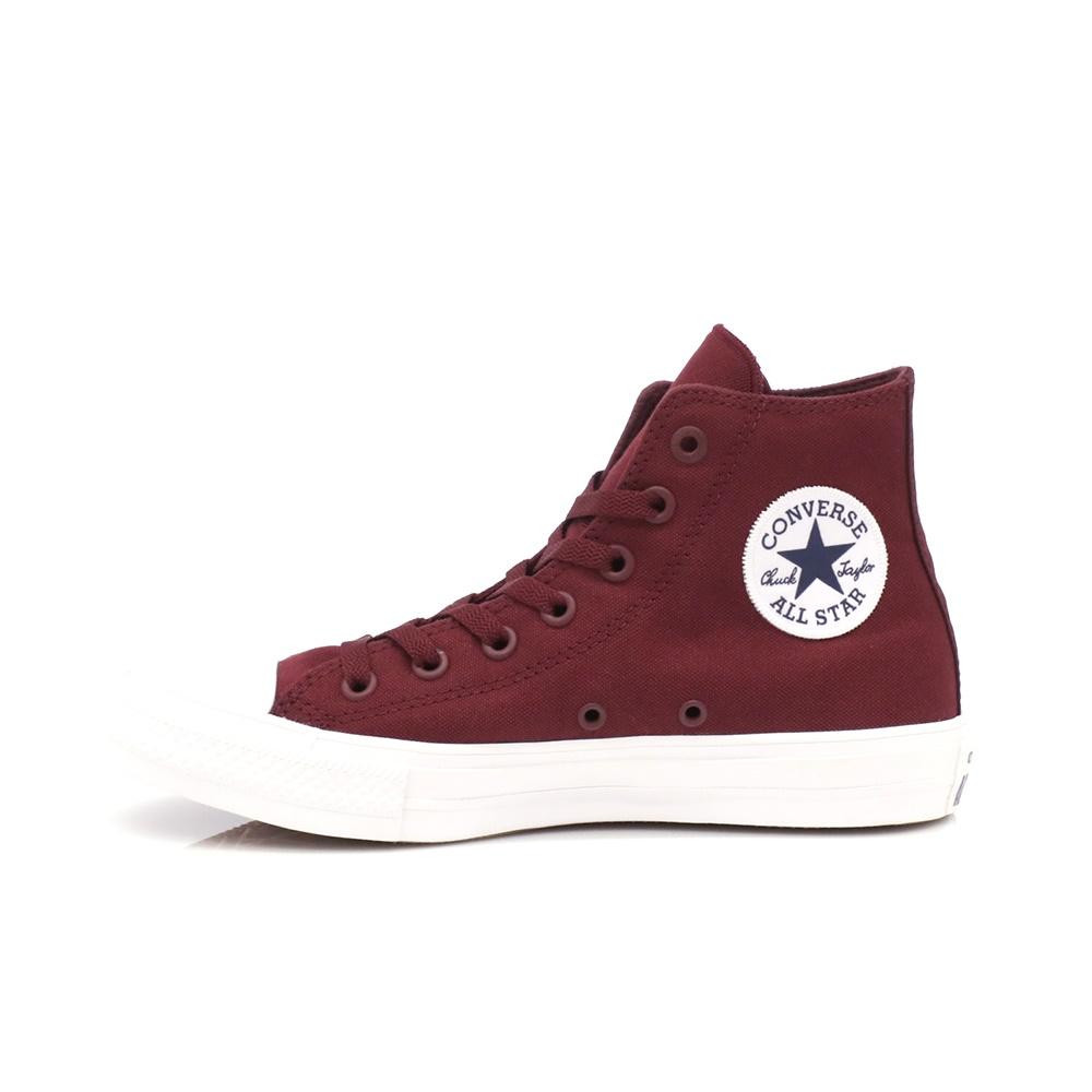 CONVERSE – Unisex παπούτσια Chuck Taylor All Star II Hi μπορντώ