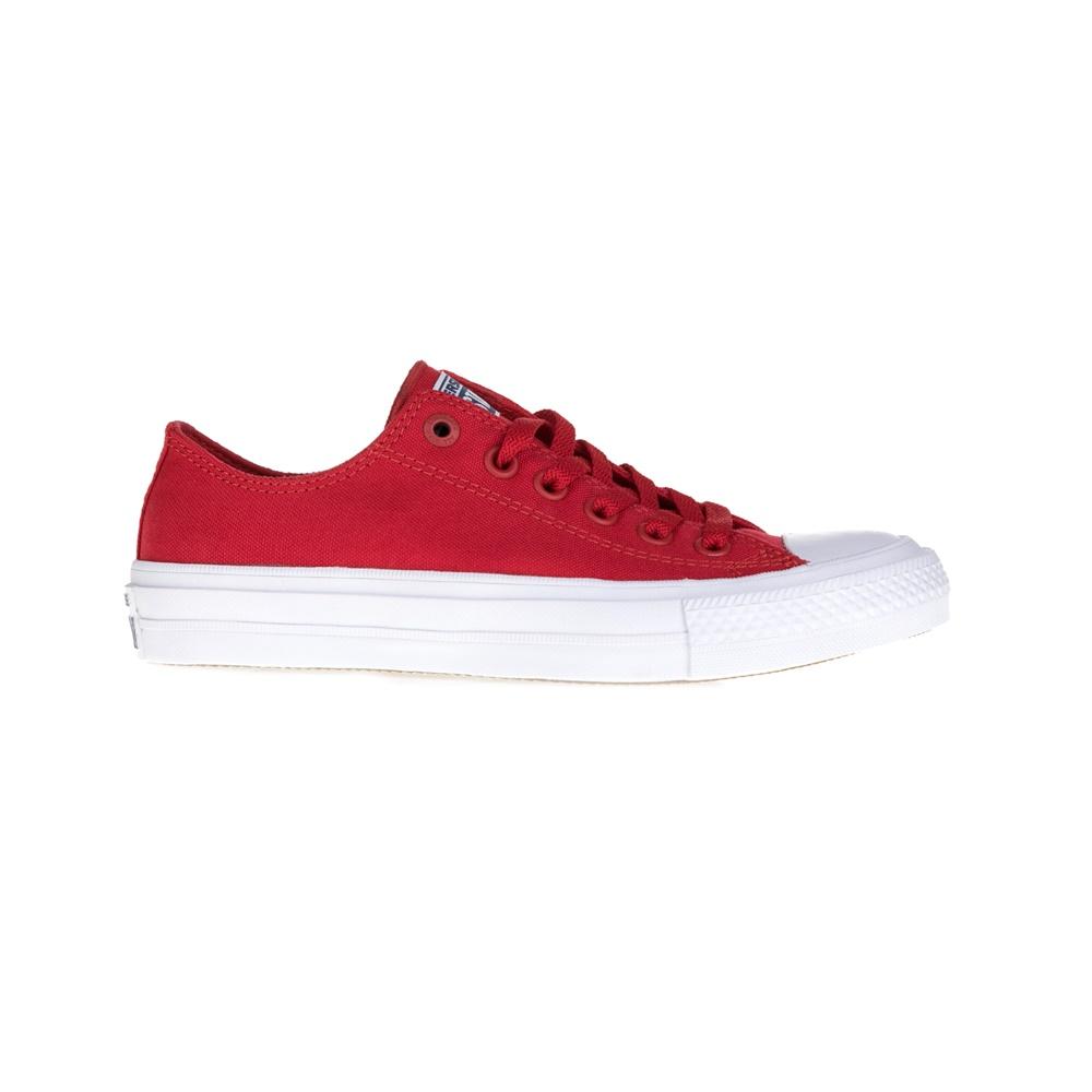 CONVERSE – Unisex παπούτσια Chuck Taylor All Star II Ox κόκκινα