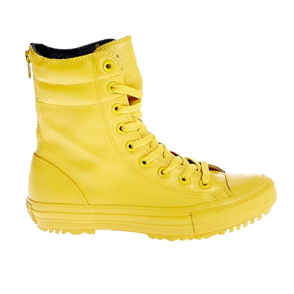 c547714c219 CONVERSE – Γυναικεία παπούτσια Chuck Taylor All Star Hi-Rise κίτρινα. Factory  Outlet