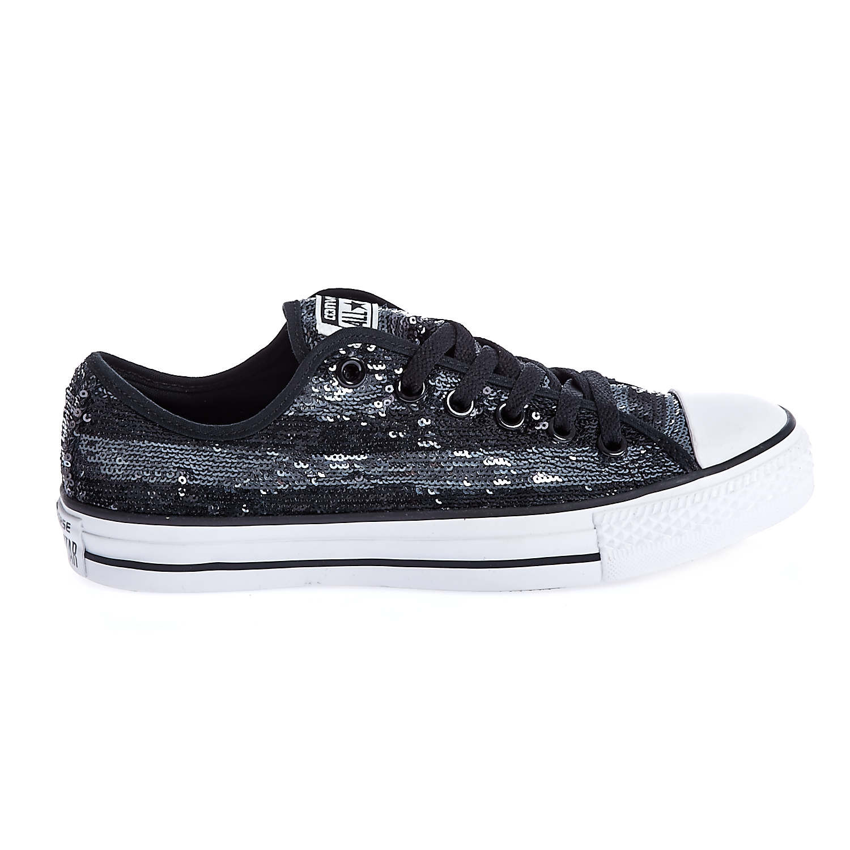 CONVERSE – Γυναικεία παπούτσια Chuck Taylor All Star Sequin O μαύρα