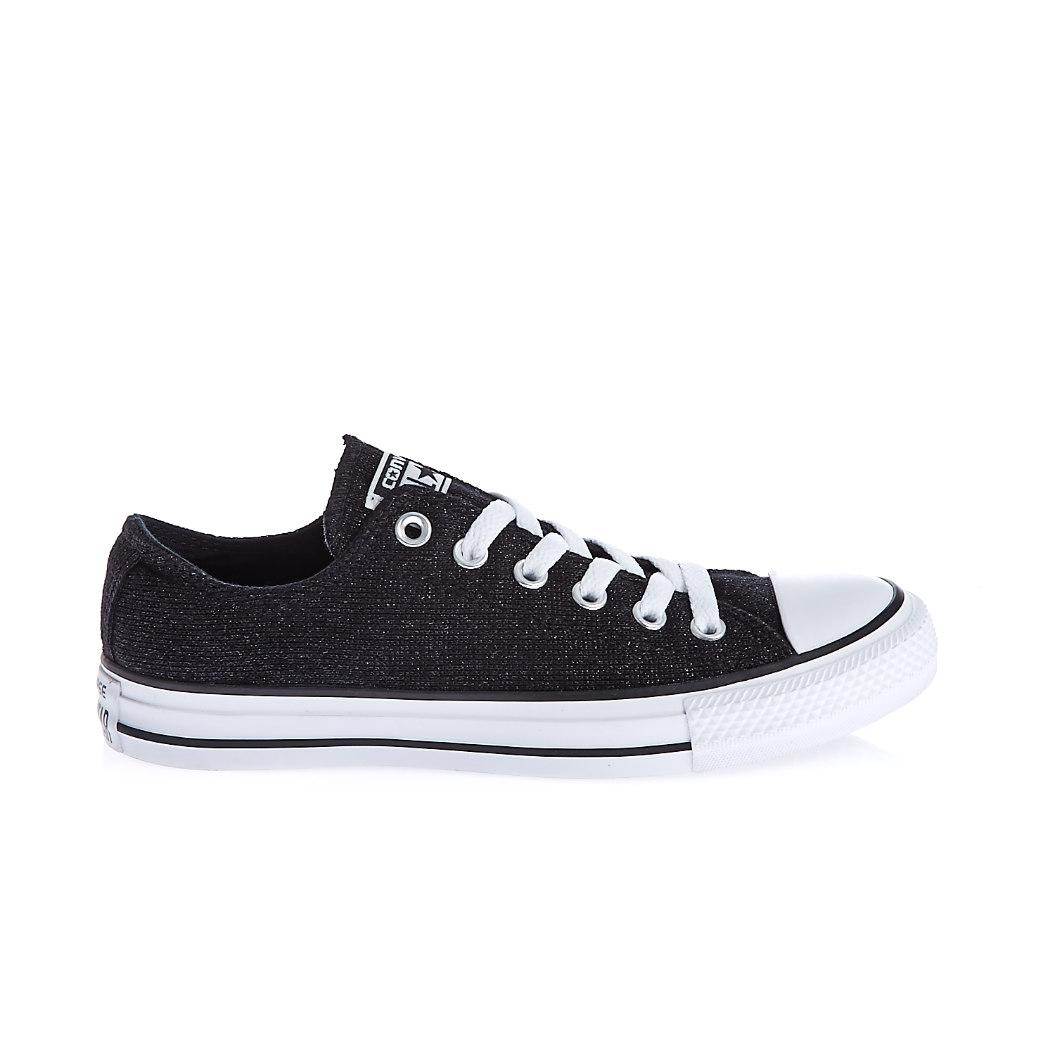 CONVERSE – Γυναικεία παπούτσια Chuck Taylor All Star Material μαύρα