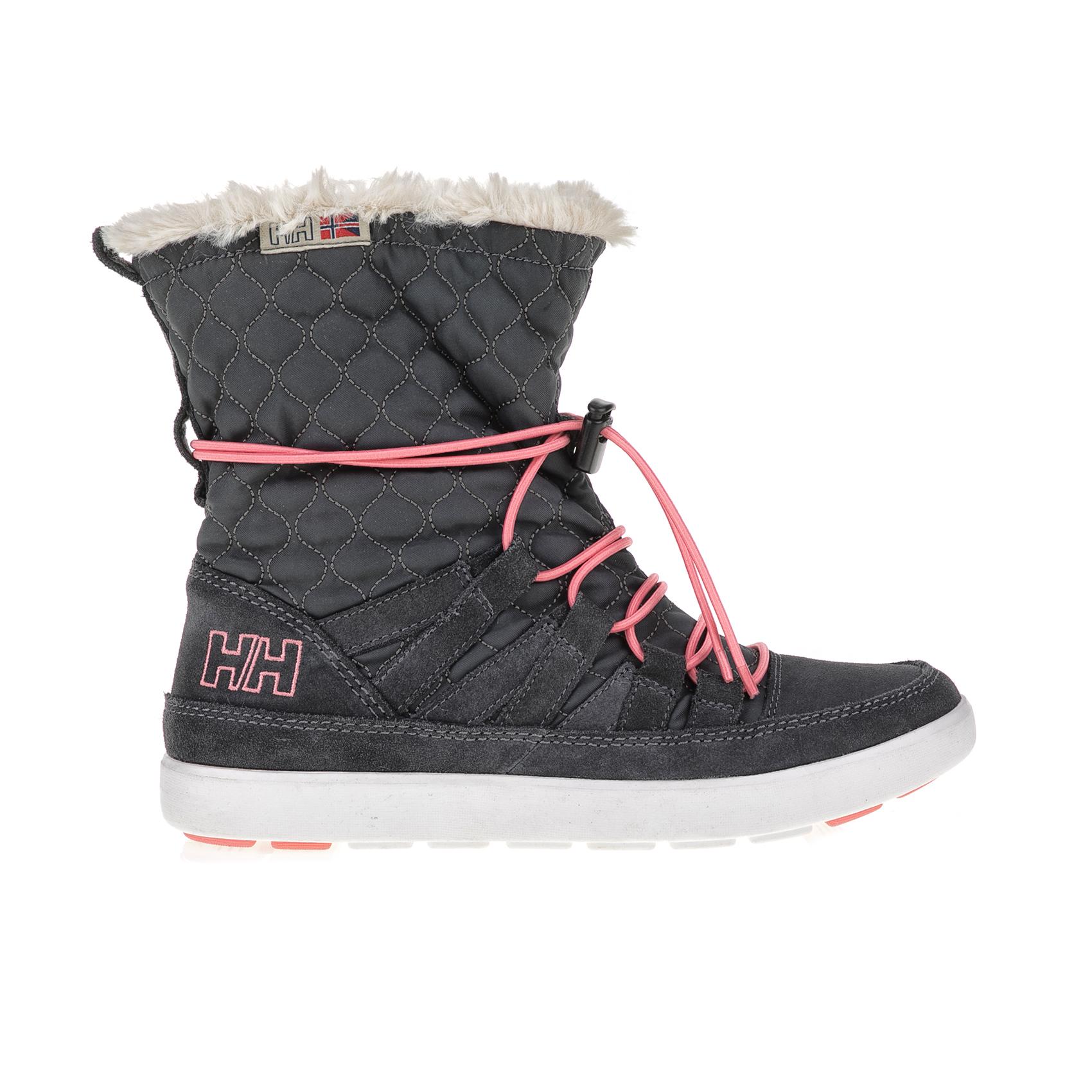 HELLY HANSEN – Γυναικείες μπότες HARRIET γκρι – ροζ