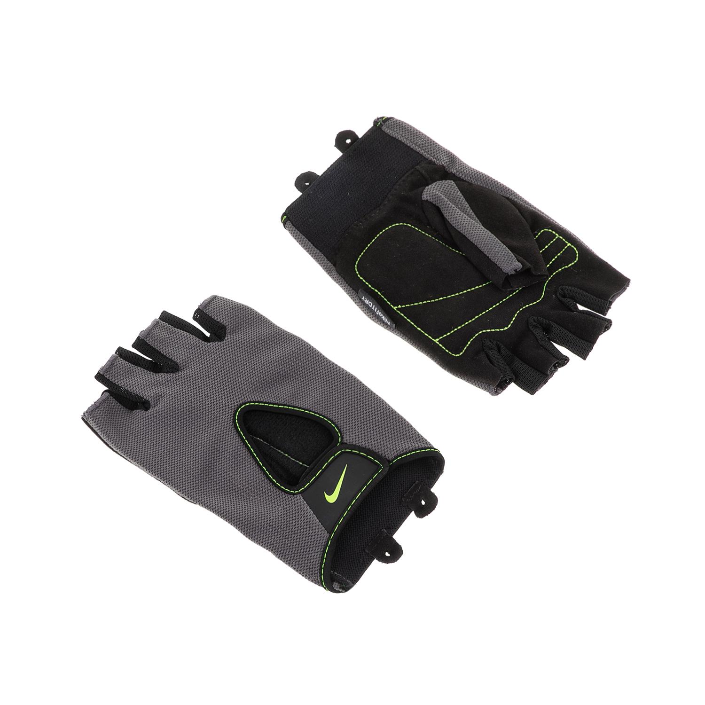 NIKE ACCESSORIES – Ανδρικά γάντια προπόνησης N.LG.B2.SL MENS FUNDAMENTAL μαύρα-γκρι