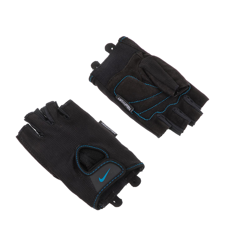 NIKE - Γυναικεία γάντια προπόνησης N.LG.90.XS WOMENS FUNDAMENTAL FITNESS GLO μαύ γυναικεία αξεσουάρ αθλητικά είδη εξοπλισμός