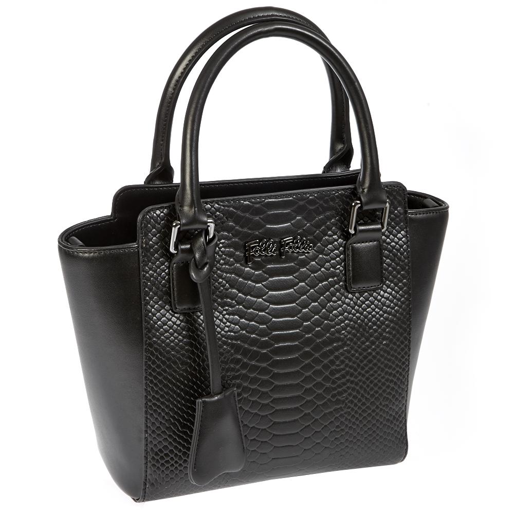 FOLLI FOLLIE – Γυναικεία τσάντα Folli Follie μαύρη 1401037.0-0000
