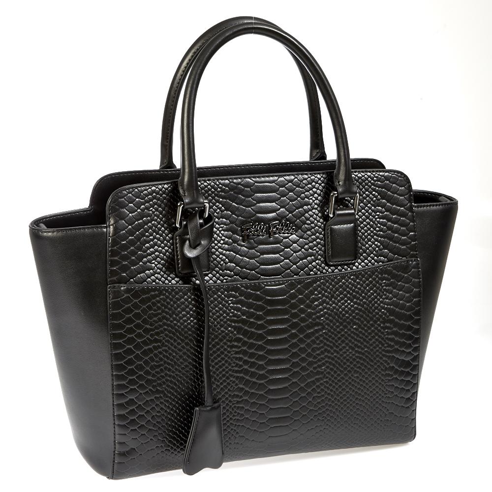FOLLI FOLLIE – Γυναικεία τσάντα Folli Follie μαύρη 1401041.0-0000