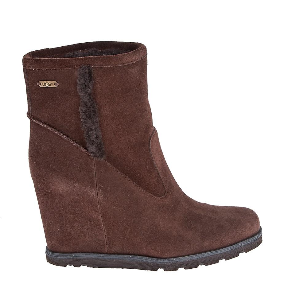 UGG AUSTRALIA - Γυναικεία μποτάκια Ugg Australia καφέ γυναικεία παπούτσια μπότες μποτάκια μποτάκια