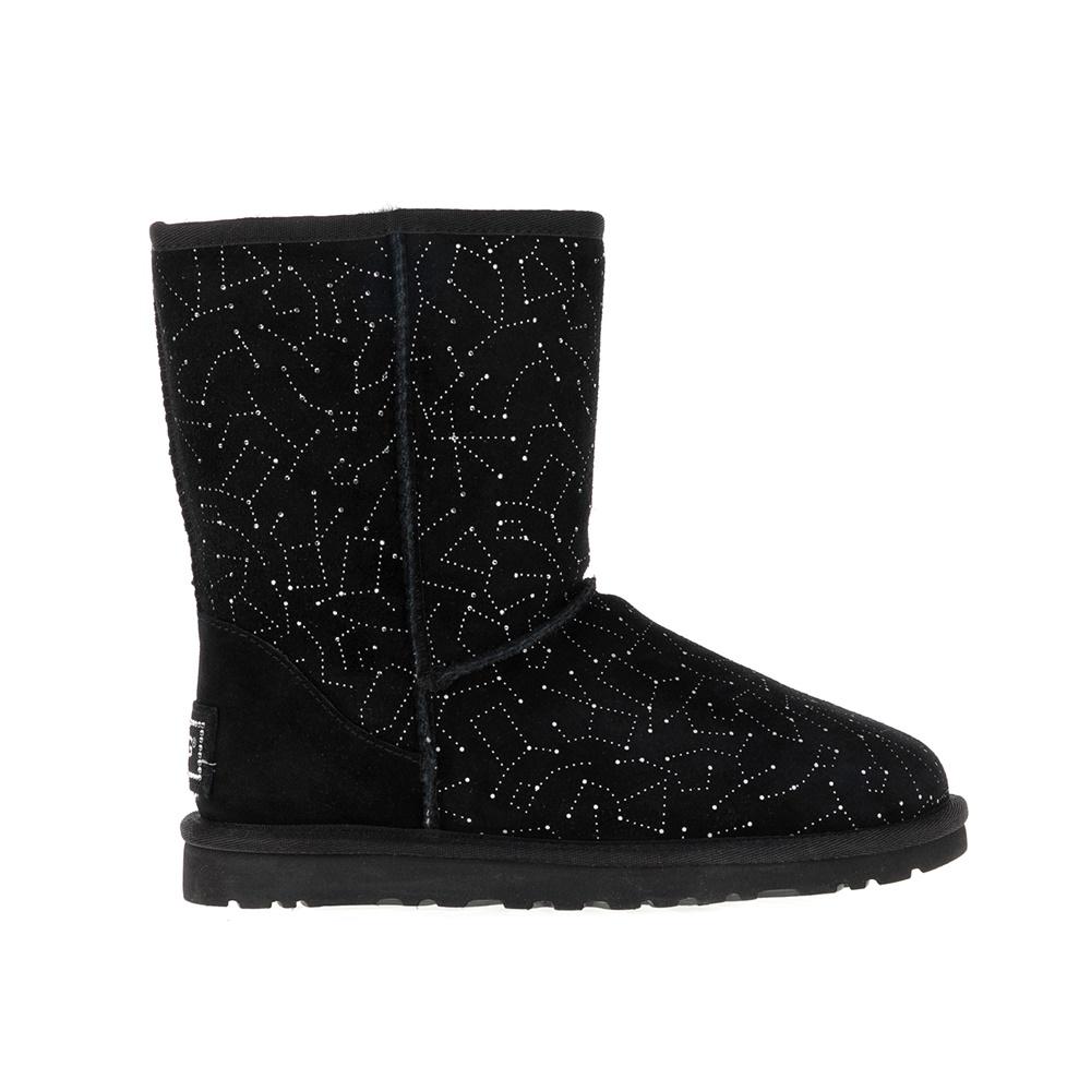 UGG AUSTRALIA – Γυναικείες μπότες CLASSIC SHORT CONSTELLATION UGG AUSTRALIA μαύρες