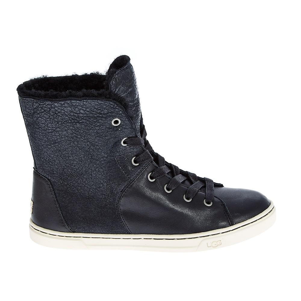 UGG - Γυναικεία μποτάκια Ugg Australia μαύρα γυναικεία παπούτσια μπότες μποτάκια μποτάκια